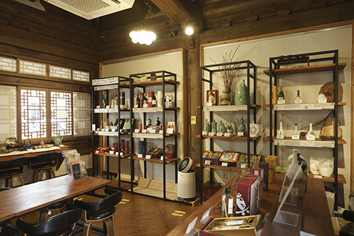 Exterior and Interior of Jeonju Korean Traditional Wine Museum