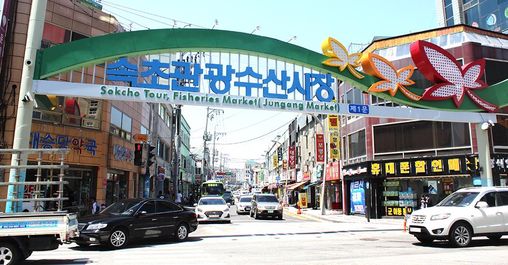 Sokcho Tour, Fisheries Market (Jungang Market)