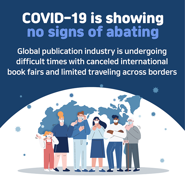COVID-19 is showing no signs of abatingGlobal publication industry is undergoing difficult times with canceled international book fairs and limited traveling across borders