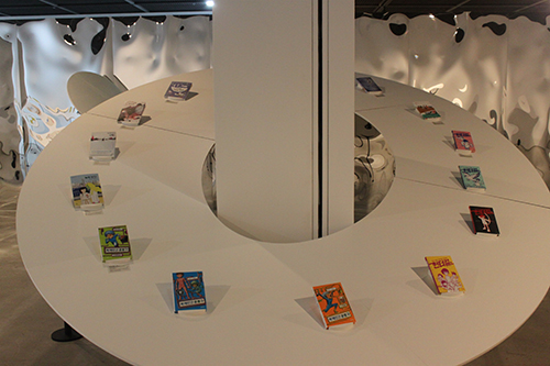 """Books exhibited in """"A Child's Question and Hope""""1"""